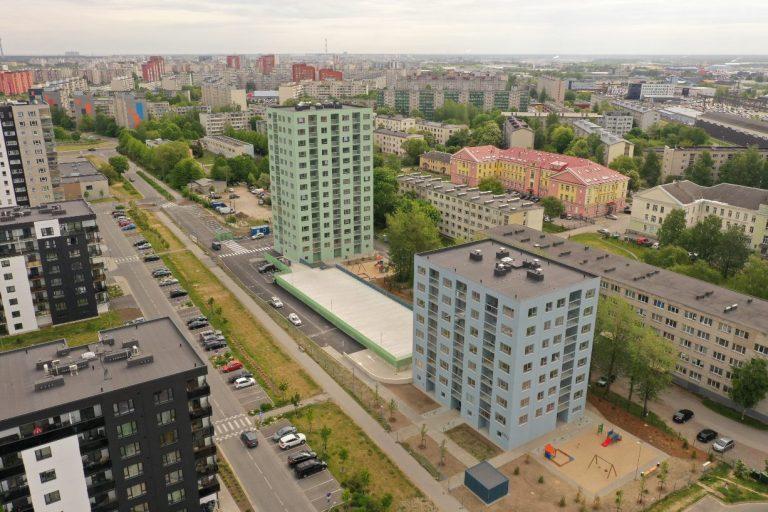 Paepargi kortermajad Tallinnas